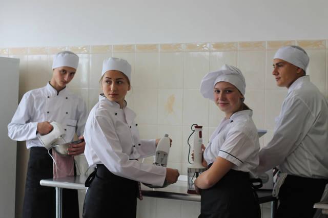 проект модернізації лабораторії кухарів з дегустаційним залом 10