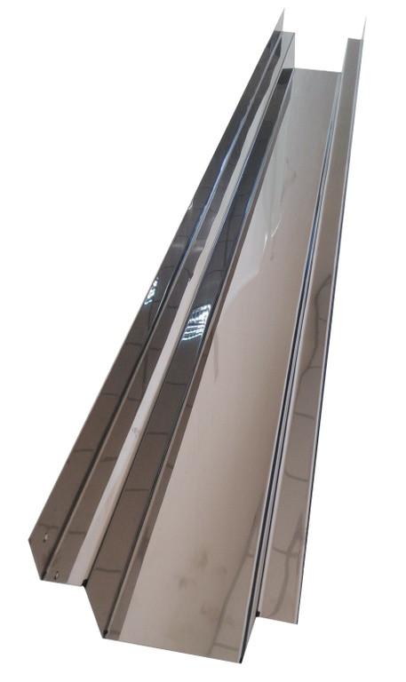 Профиль система для охлаждающих панелей на 0,6 метров. Верхняя часть.