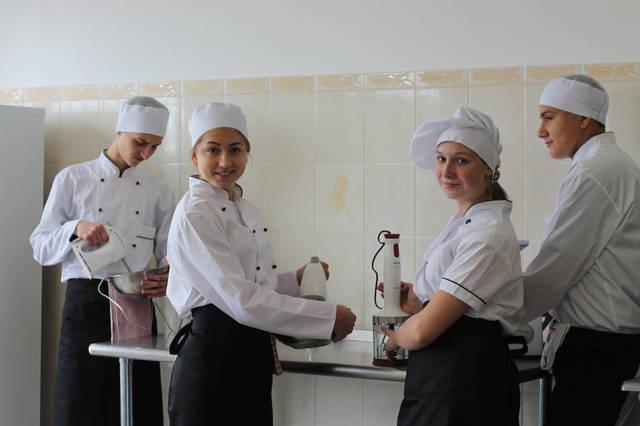 проект модернізації лабораторії кухарів з дегустаційним залом 11