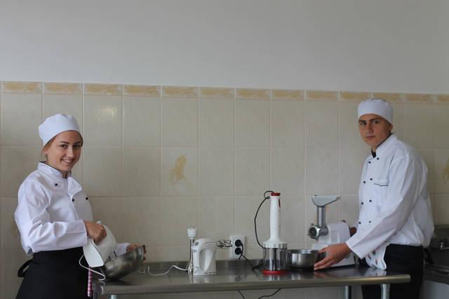 проект модернізації лабораторії кухарів з дегустаційним залом 12