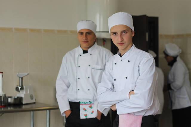 проект модернізації лабораторії кухарів з дегустаційним залом 13