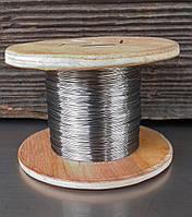 Дріт ніхром х20н80 0,1 мм 10 метрів, фото 1