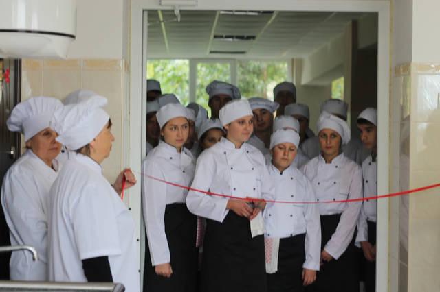 проект модернізації лабораторії кухарів з дегустаційним залом 14