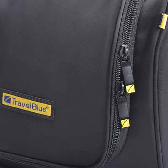 Дорожный органайзер для косметики премиум качества Travel Blue Черный (341B), фото 2