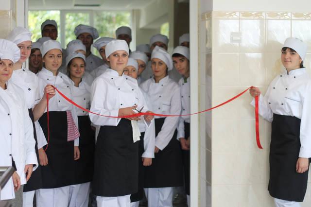 проект модернізації лабораторії кухарів з дегустаційним залом 15