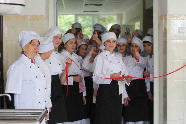 проект модернізації лабораторії кухарів з дегустаційним залом 16