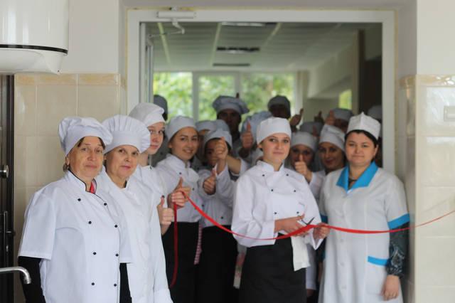 проект модернізації лабораторії кухарів з дегустаційним залом 17