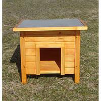 Будка для собак -Комфортна 66*76*59 см / вход  23*20 cм