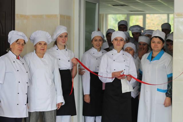 проект модернізації лабораторії кухарів з дегустаційним залом 19