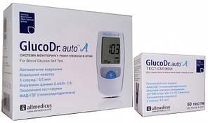 Глюкометр GlucoDr. auto AGM 4000 + 50 тест полосок