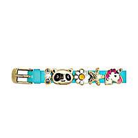 Браслет силиконовый Biojoux BJB007 Charms Bracelet MIX 7 - Blue gold 4772, КОД: 2353013