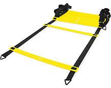 Лесенка LiveUp Agility Ladder координационная 8 м Black-Yellow LS3671-8, КОД: 1779968