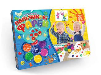 Пальчиковые краски Danko Toys Мое первое творчество 7 Цветов Разноцветный 6819DT, КОД: 1218713