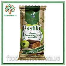 Пастила яблучна в 56% темному шоколаді без цукру, зі стевією1кг