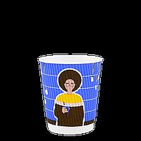Стакан гофрированный COFFEEFRIENDS 250мл. Евро 30шт/рук; 28рук/ящ; 840шт/ящ, (КВ80/FiB80), фото 1