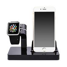 Док-станция Grand Charger Dock для Apple Watch и iPhone Black AL2603, КОД: 1130704