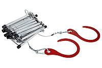 Универсальная спасательная лестница Uniladder 1L-1000 Silver n-66, КОД: 1638325