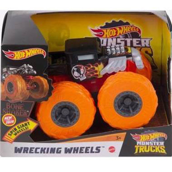 Хот Вилс Монстер Трак BONE SHAKER, Hot Wheels Monster Truck, Mattel (GKC85)