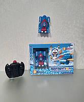 Антигравитационная радиоуправляемая супер машинка Doraemon 3499, голубая