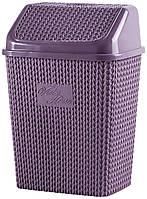 Корзина для мусора VIOLET HOUSE PLUM Виолетта 6513163, КОД: 1865256