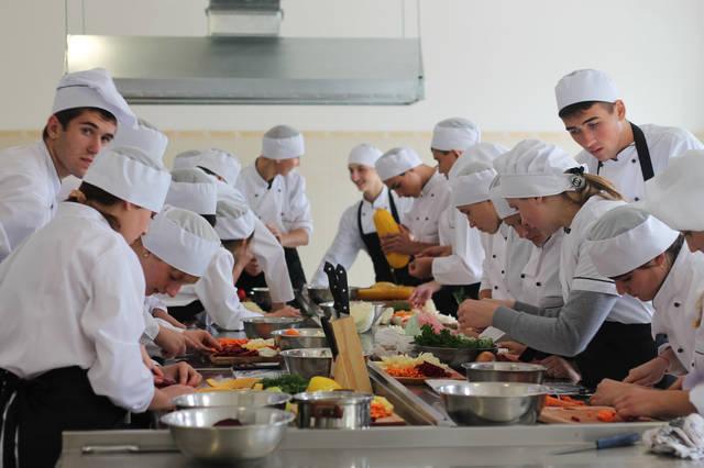 проект модернізації лабораторії кухарів з дегустаційним залом 31
