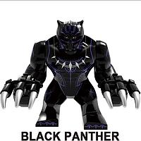 Большие фигурки Черная Пантера аналог Лего 7-9 см конструктор