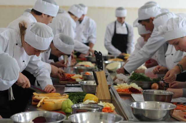проект модернізації лабораторії кухарів з дегустаційним залом 36