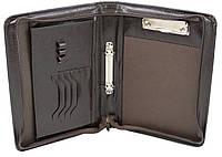 Папка деловая формата А5 из искусственной кожи JPB Коричневый AK-06 brown, КОД: 1522709