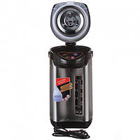 Термопот электрический чайник-термос Domotec MS-6000 6 л 800W Black Steel 112756, КОД: 2380999