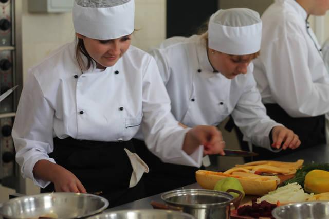 проект модернізації лабораторії кухарів з дегустаційним залом 41