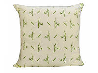 Подушка Бамбук Leleka-Textile 70x70 см Светло-зеленый 1005593, КОД: 1685038