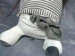 Плед - мягкая игрушка 3 в 1  Коровка серая  (50), фото 4