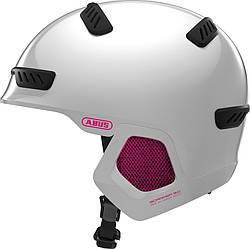Шолом велосипедний ABUS SCRAPER 3.0 ERA L Pearl White 817953, КОД: 1070447