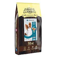 Сухий корм Home Food гіпоалергенний для дорослих собак малих порід з фореллю і рисом 10кг