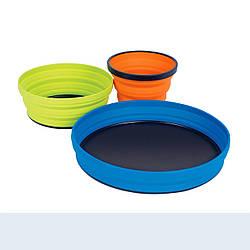 Набір посуду Sea To Summit X-Set 3 Mix Color 4 шт STS AXSET3, КОД: 1851365