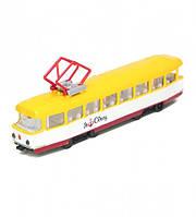 Модель Технопарк Городской трамвай Одесса со светом и озвучкой на украинском SB-17-16WB-O, КОД: 2431067