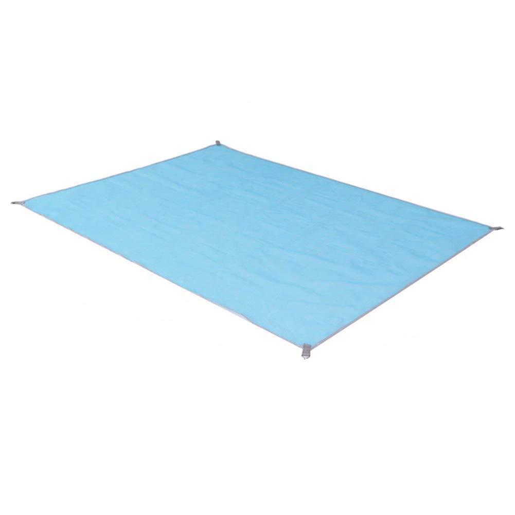Пляжный коврик подстилка покрывало анти песок VOLRO SAND MAT 150х200 см Blue (vol-241)