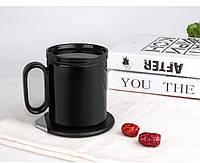 Чашка с поддержкой температуры зарядным устройством для мобильного телефона