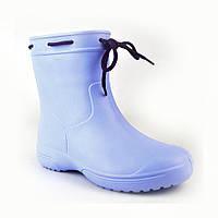 Сапоги женские резиновые EVA Jose Amorales с шнуровкой 37 р Голубой joa1192602, КОД: 2374717