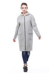 Женское пальто ORIGA Аллегра 42 Светло-серый, КОД: 2371954