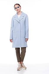 Женское пальто ORIGA Орсола 44 Светло-голубой 02Orsola2-гол елоч44, КОД: 2377953