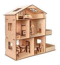 """Подарочный кукольный домик из дерева, подарок на день Святого Николая, будинок з мансардою """"TREE HOUSE"""""""