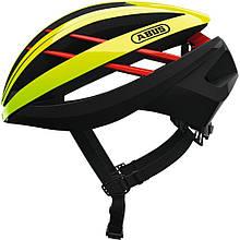 Шолом велосипедний ABUS AVENTOR S Neon Yellow 776090, КОД: 1057828