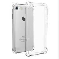 Ультратонкий прозрачный силиконовый Ultra clear чехол для iPhone 6 6s 12564, КОД: 1870366