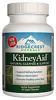 Комплекс для поддержки функции почек RidgeCrest Herbals KidneyAid 60 гелевых капсул RCH168, КОД: 1826766