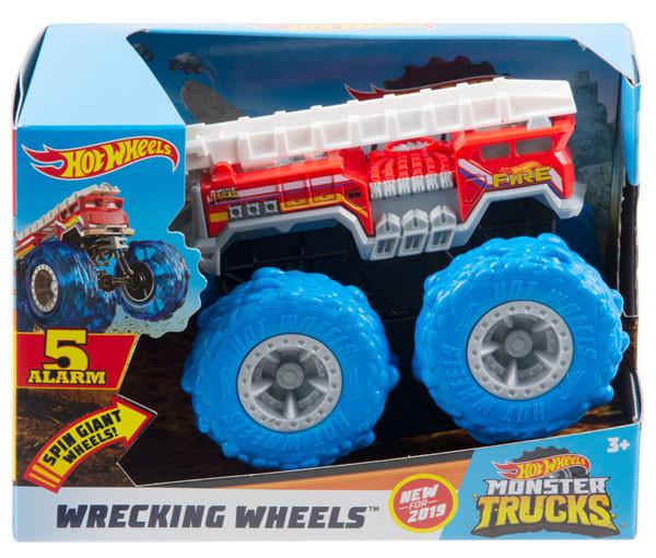 Хот Вилс Монстер Трак 5 ALARM, Hot Wheels Monster Truck, Mattel (GCG04)