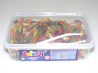 Жевательный мармелад  черви 150 шт. Jelaxy (Elvan)
