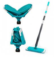 Швабра универсальная Titan Twist Mop вращается на 360 градусов с отжимом для влажной уборки 11281, КОД: