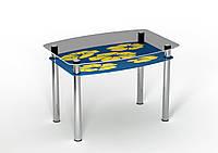 Стол Sentenzo Мальва 900x650x750 мм Желто-синий 236631336, КОД: 1556402