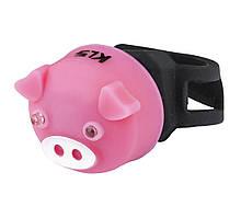 Мигалка задня KLS PIGGY Pink 8585019395955, КОД: 1349460